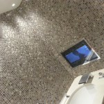 Bathroom tiling completed work at pennyhill park hotel