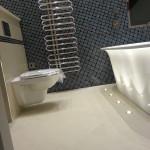 five star hotel bathroom tiling work