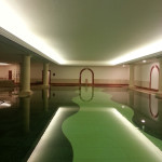 pennyhill park spa after decorating work completed
