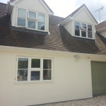 Beautiful exterior decorating, rendering and painting